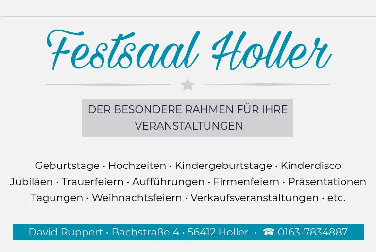 Festsaal Holler