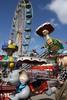 Volksfest rothenburg o.d. tauber  riesenrad kinder karussell leer freizeit vergn%c3%bcgungspark  stadt rothenburg ob der tauber volksfest