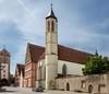 Heilig geist  kirche rothenburg o.d. tauber  sonne mauer spitalturm %c2%a9rothenburg tourismus service  wp  heilig geist.klein