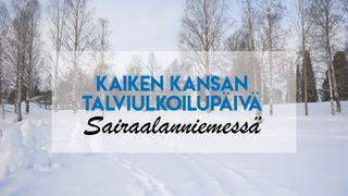 Kaiken Kansan talviulkoilupäivä Sairaalanniemessä 27.3.