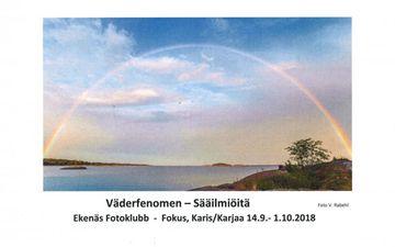 Utställning i Galleri Fokus 14.9.-1.10.2018