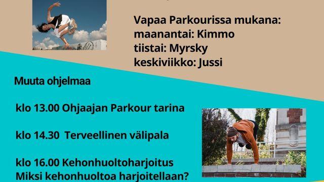 Parkour Festarit 18.-20.10.