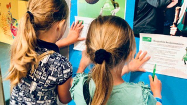 Kauppakeskussuunnistus lapsille Ideaparkissa