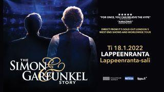 Menestyskiertue The Simon & Garfunkel Story palaa Suomeen