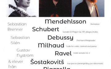 Konsert 16.11 kl. 19 i Sigurd Snåresalen