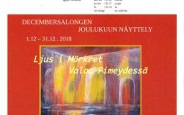 Näyttely Galleria Perspektiivissä 1.-31.12. 2018