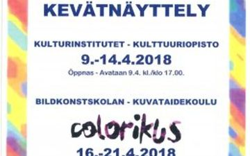 Näyttely Galleria Fokuksessa 16.-21.4.2018