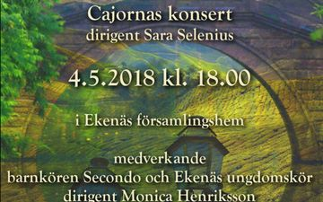 Cajornas konsert Sagodrömmar