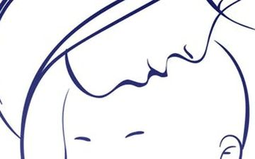 Image result for clip art of baby breast feeding under cover