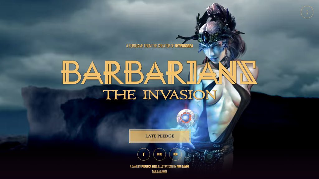 Barbarians: the Invasion - Website