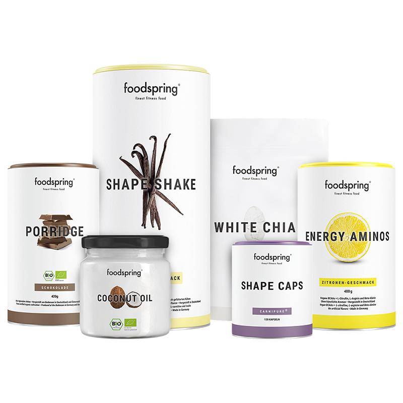 Abnehm-Paket Pro - Mit Shape Shake Vanille & Porridge Schokolade. Inkl. gratis Guide!