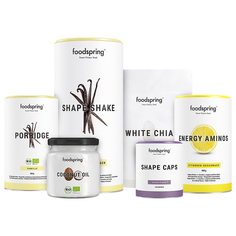 Abnehm-Paket Pro - Mit Shape Shake Vanille & Porridge Vanille. Inkl. gratis Guide!