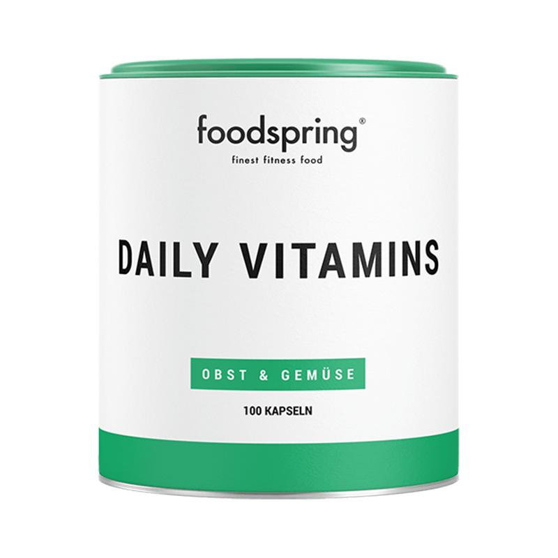 Daily Vitamins - 100 Vitamintabletten mit dem optimalen Vitamin-Mix