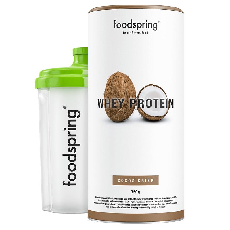 Whey Protein Shake Coco Crisp- Premium Eiweiß für optimalen Muskelaufbau