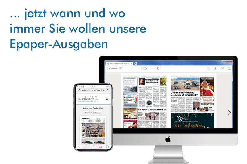 ePaper-Uebersicht
