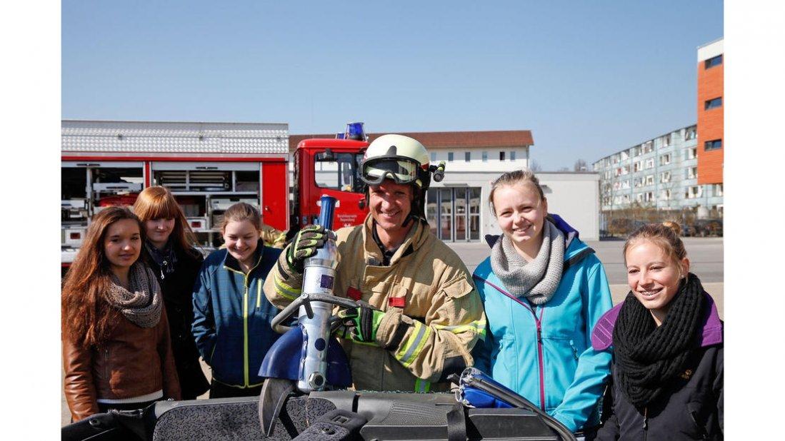 Girls Day bei der Stadt Regensburg Feuerwehr und