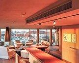 Drohnenaufnahme mit breitem Blick der Suite im Hotel Bayerischer Hof in München