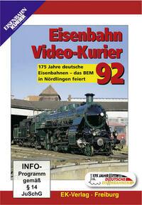 Eisenbahn Video-Kurier 92