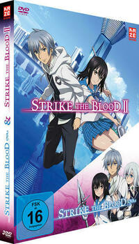 Strike the Blood Second / Strike the Blood OVAs - DVD-Box (3 DVDs)