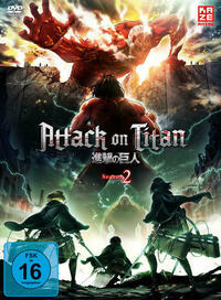 Attack on Titan - 2. Staffel - DVD 1 + Sammelschuber (Limited Edition)
