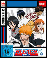 Bleach TV-Serie - Blu-ray-Box 1 (Episoden 1-20) (3 Blu-rays)