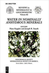 Water in Nominally Anhydrous Minerals