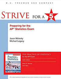Strive for 5: Preparing for the AP Statistics Exam