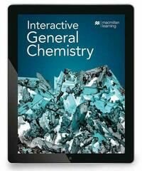 Interactive General Chemistry (12 month access card)