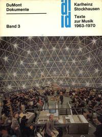 Texte zur Musik 1963-1970