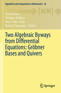 Two Algebraic Byways from Differential Equations: Gröbner Bases and Quivers