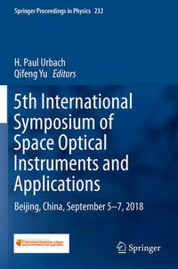 5th International Symposium of Space Optical Instruments and Applications