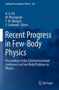 Recent Progress in Few-Body Physics