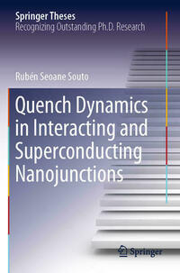 Quench Dynamics in Interacting and Superconducting Nanojunctions