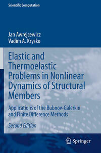 Elastic and Thermoelastic Problems in Nonlinear Dynamics of Structural Members