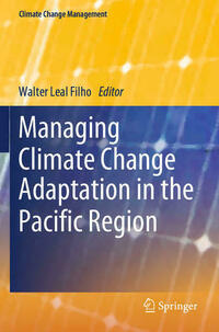 Managing Climate Change Adaptation in the Pacific Region