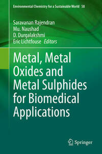 Metal, Metal Oxides and Metal Sulphides for Biomedical Applications
