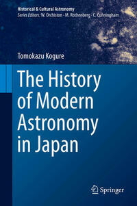 The History of Modern Astronomy in Japan