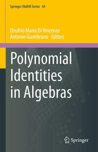 Polynomial Identities in Algebras