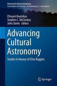 Advancing Cultural Astronomy