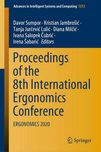 Proceedings of the 8th International Ergonomics Conference