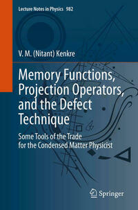 Memory Functions, Projection Operators, and the Defect Technique
