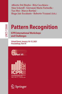 Pattern Recognition. ICPR International Workshops and Challenges