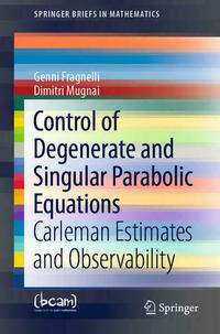 Control of Degenerate and Singular Parabolic Equations