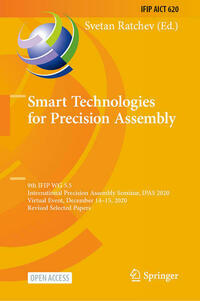 Smart Technologies for Precision Assembly
