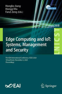 Edge Computing and IoT: Systems, Management and Security