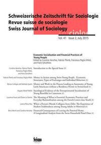 Schweizerische Zeitschrift für Soziologie 41/2
