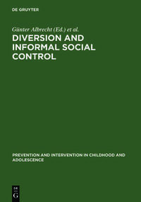 Diversion and Informal Social Control