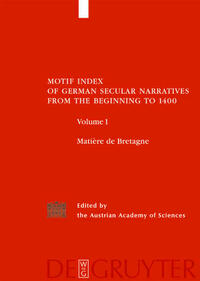 Motif-Index of German Secular Narratives from...