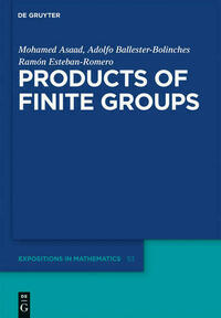 Products of Finite Groups