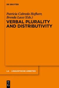 Verbal Plurality and Distributivity